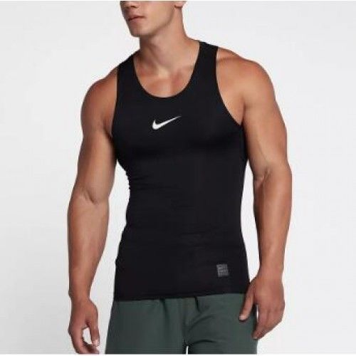 eed3a05bfb6 NIKE MEN'S PRO TRAINING SLEEVELESS TANK TOP NEW 838101 010 BLACK SIZE 2XL # Nike #ShirtsTops