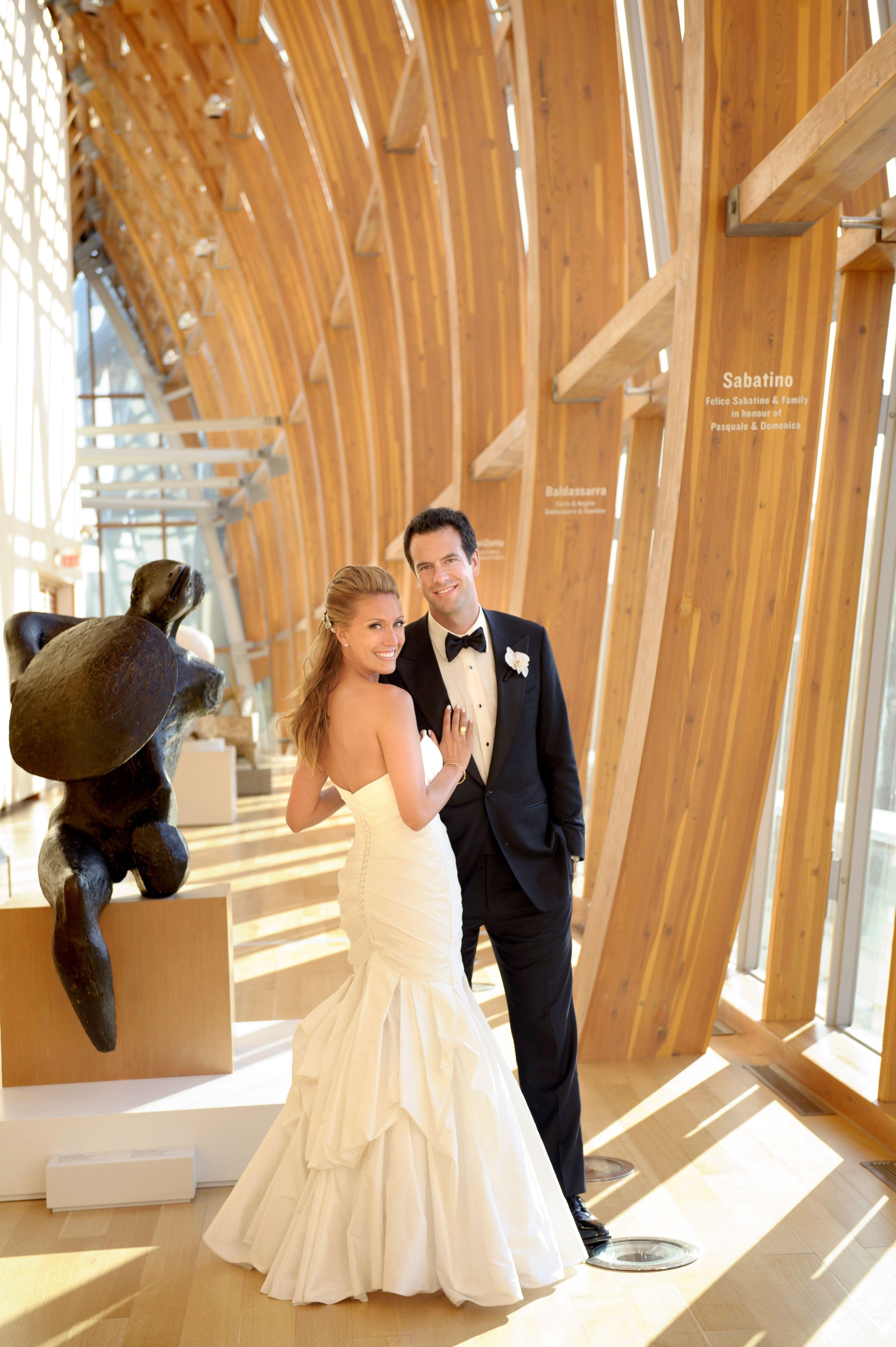 A Modern Art Gallery Wedding in Toronto | Weddingbells