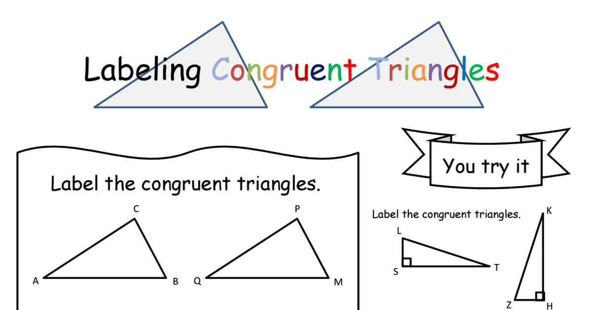 Congruent Triangles w/ Algebra, graph Notes.pdf (With
