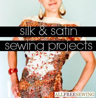 Projetos de costura DIY tecido-específicas | AllFreeSewing.com
