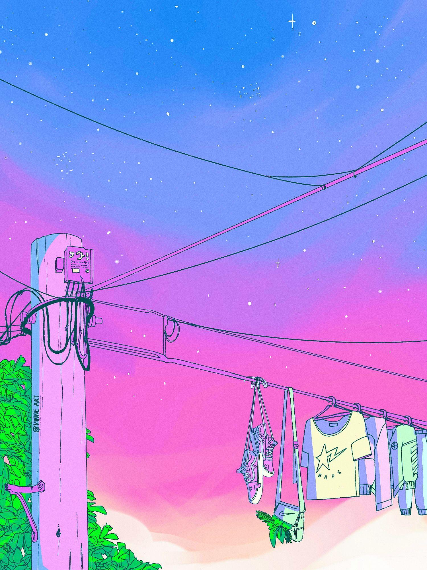 Vinne Art Pastel Aesthetic Aesthetic Anime Aesthetic Wallpapers