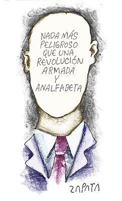 Pedro Leon Zapata - Caricaturista - obras - La pura verdad.
