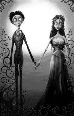 El Extrano Mundo De Jack Y Sally Enamorados Buscar Con Google El Cadaver De La Novia Arte De Tim Burton Imagenes De Terror