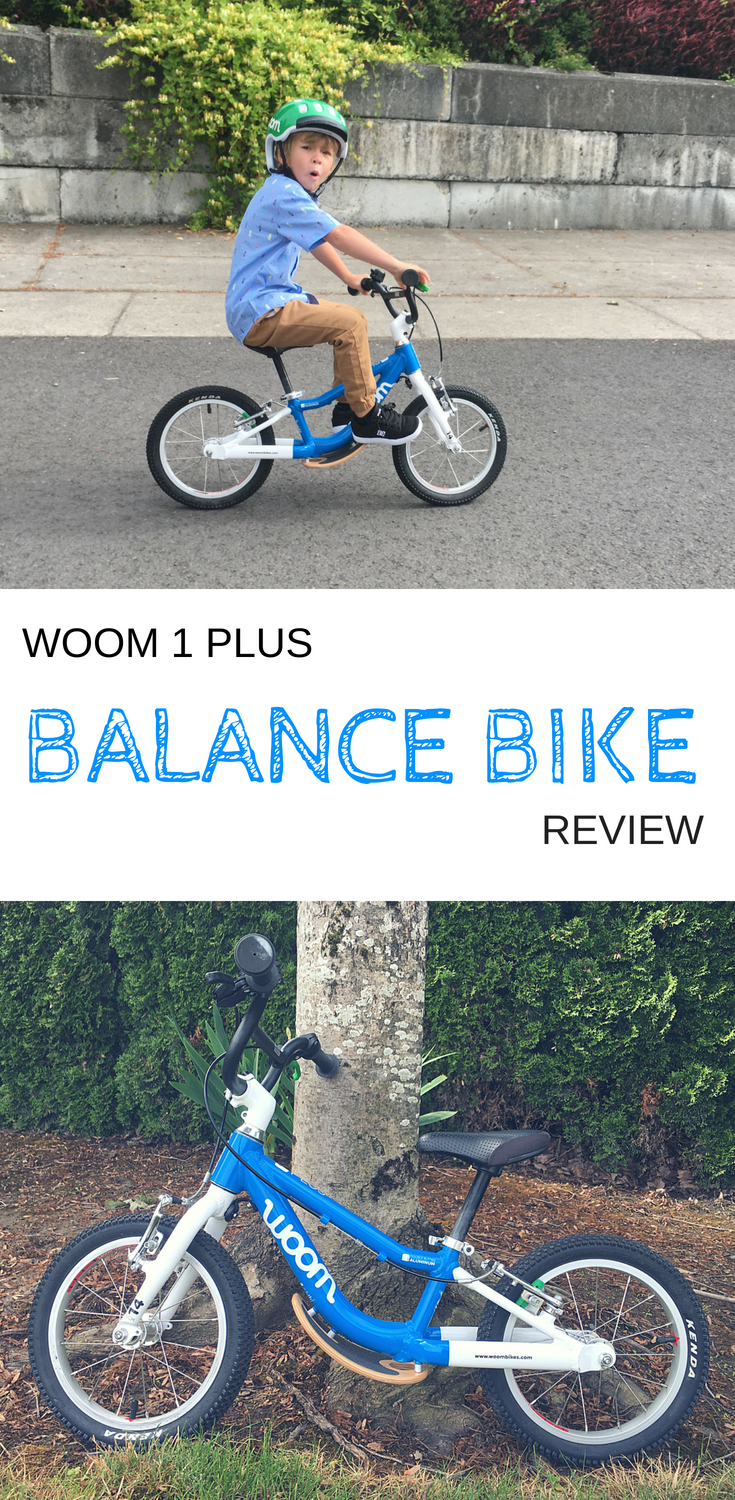 Woom 1 Plus Balance Bike Review Balance Bike Bike Reviews Kids