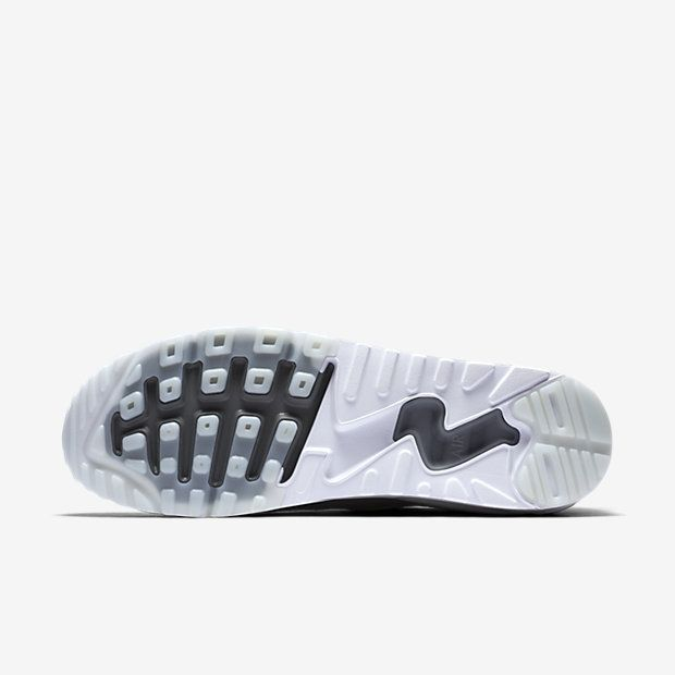 reputable site dc308 91d56 Chaussure Nike Air Max 90 Pas Cher Homme Ultra 2 0 Flyknit Platine Pur  Blanc Gris