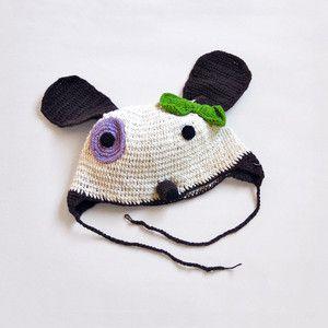 Doggie Hat Baby Cream now featured on Fab.Children