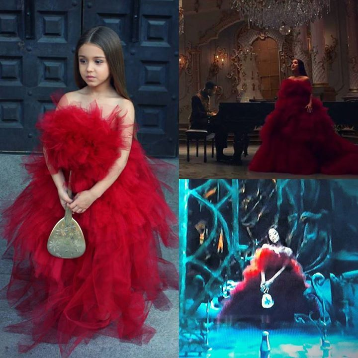 Ariana Grande Inspired Dress From The Beauty And The Best