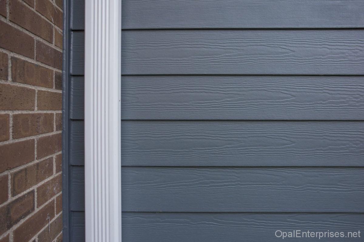 Evening Blue James Hardie Siding Cedarmill Planks