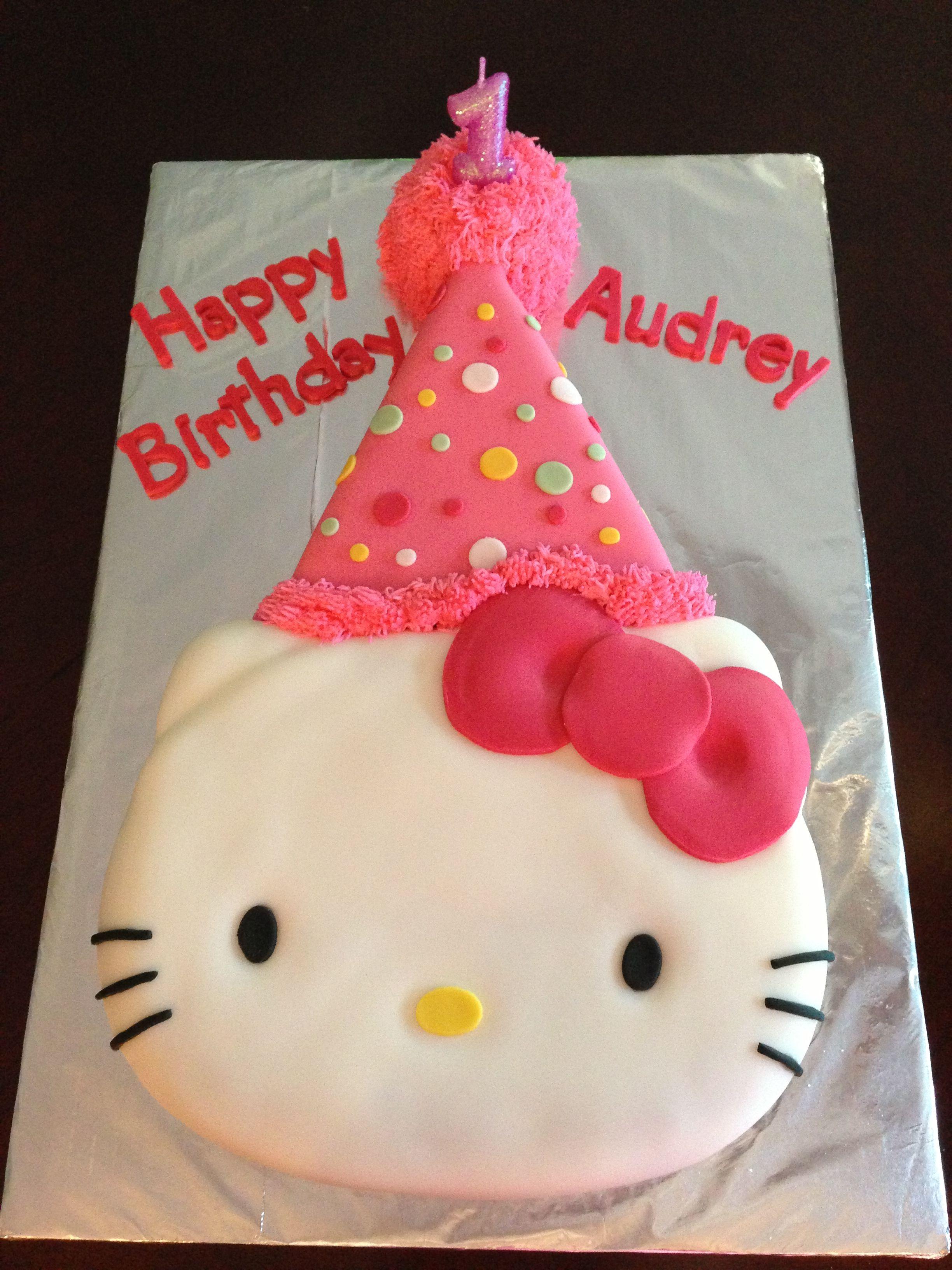 Hello Kitty Birthday Cake kitty Pinterest Hello kitty birthday