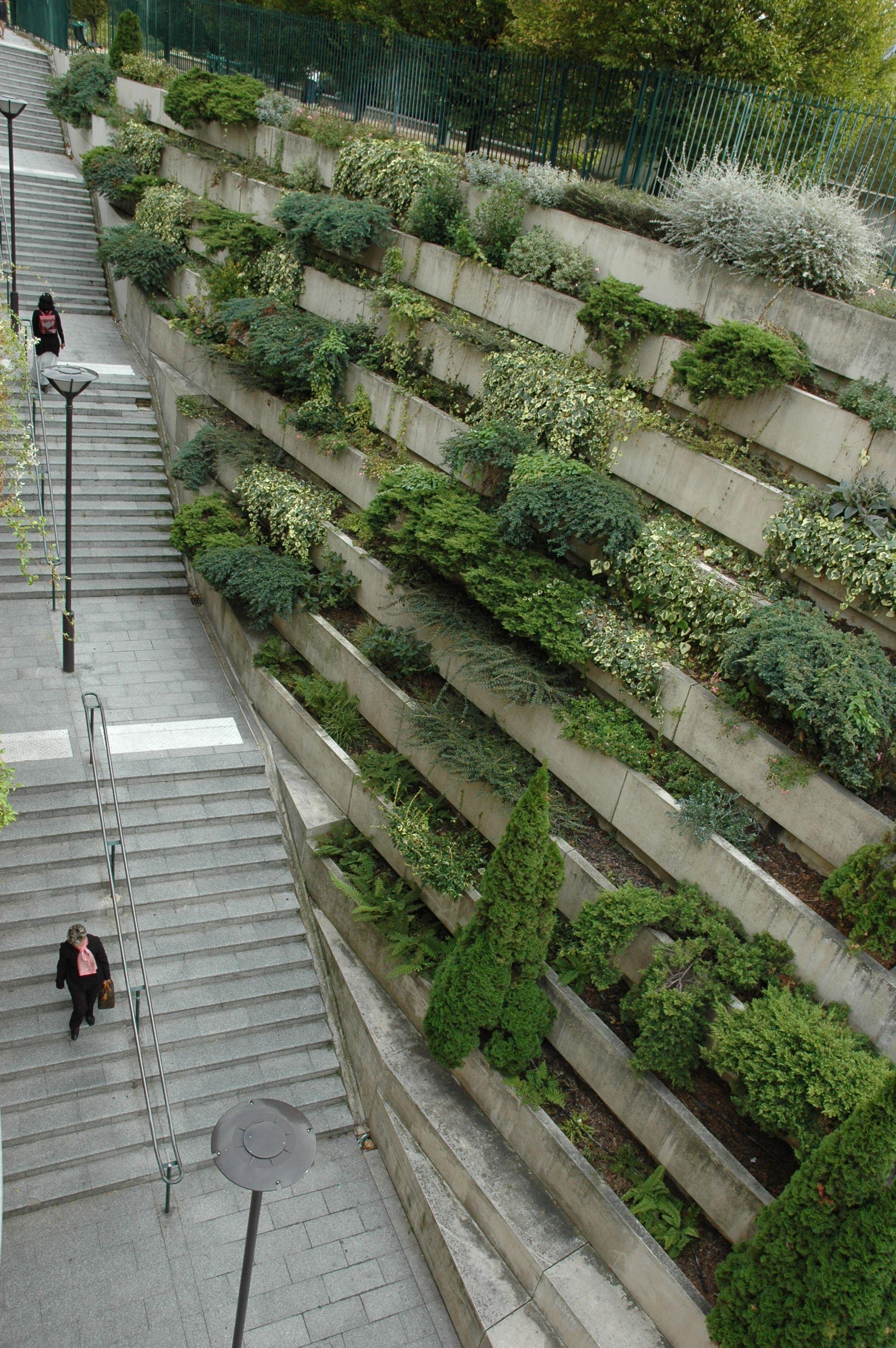 Coulee Verte Rene Dumont Ex Promenade Plantee Landscape Stairs Landscape Design Landscape Architecture Design