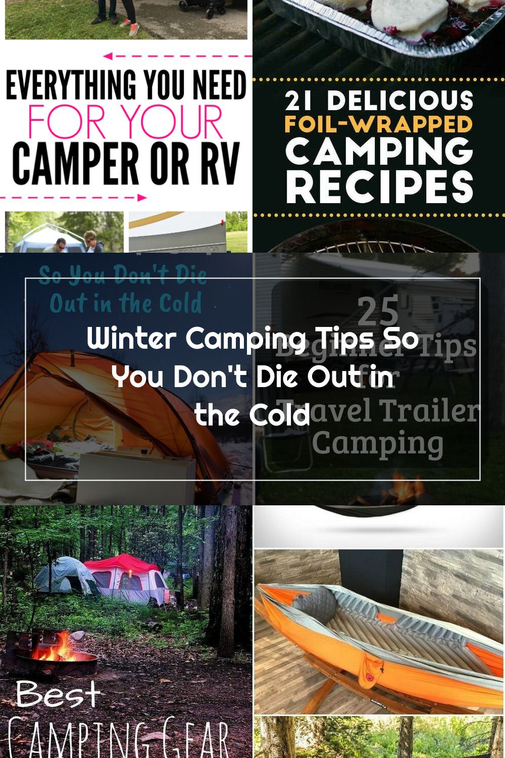 Winter Camping Tips so you don't die out there. Seriously ...