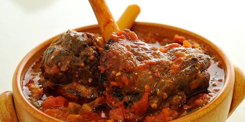 طريقة عمل طاجن البامية باللحم Meat Tagine Food