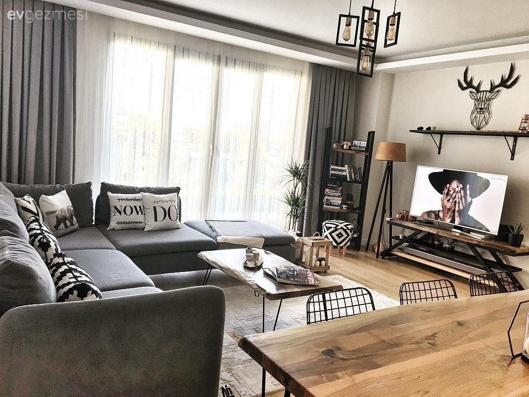 Ev Gezmesi Mottosu Mutluluk Olan Bir Istanbul Evi Ev Gezmesi Oturma Odasi Tasarimlari Ev Oturma Odasi Oturma Odasi Dekorasyonu