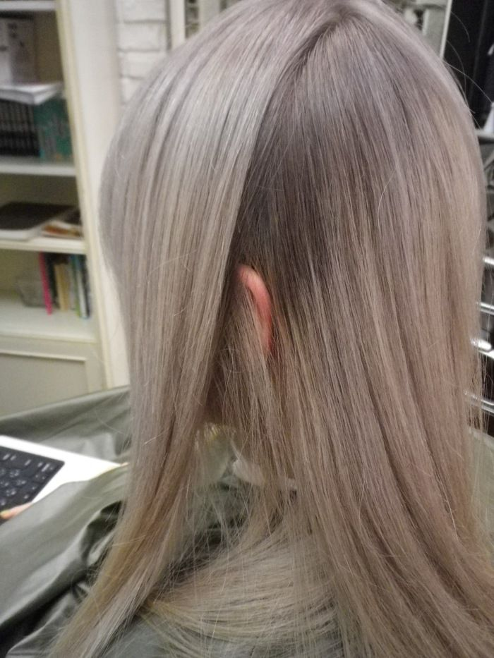 Ash Blonde Hair Color With A Subtle Transition That Might Work
