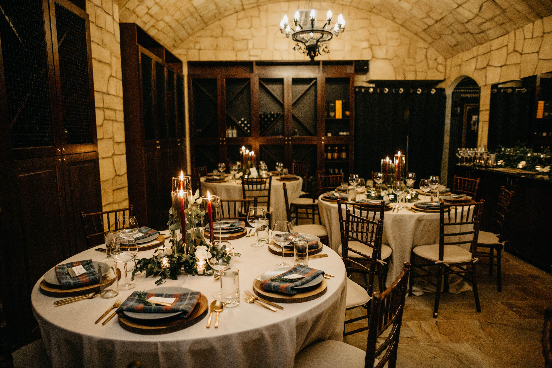 Wedding Reception in The Wine Cellar at Hotel Teatro ...