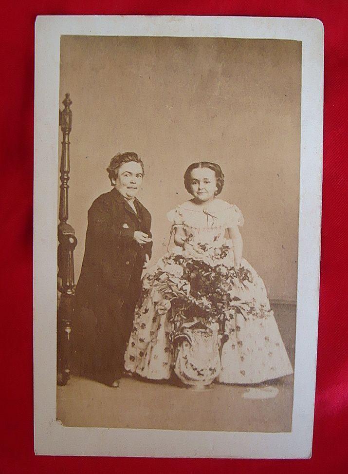 wedding tom thumb History of