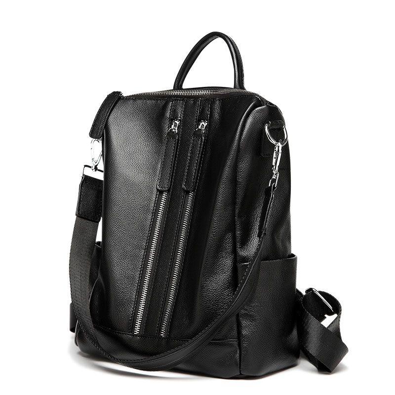 l gant sac dos luxe noir l gant pour femme sacs dos. Black Bedroom Furniture Sets. Home Design Ideas