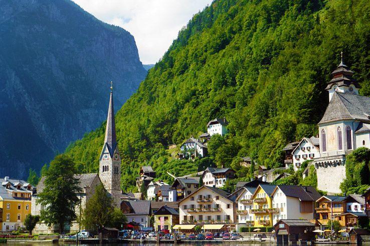 Surviving Europe: Salzburg Day Trips 10 Austrian Lakes Worth a Visit -  Hallstatt Village | Day trips, Hallstatt, Lake