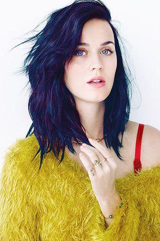 midnight blue hair color - Blue Color Hair