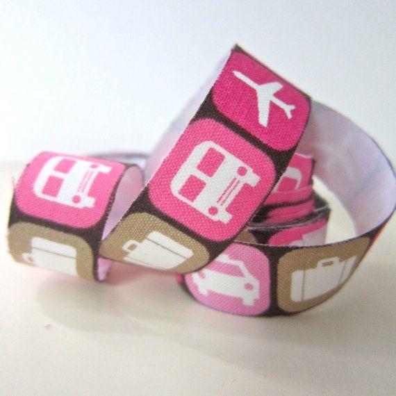 Self adhesive fabric masking tape / fabric sticker   by Cutezakka, $2.80