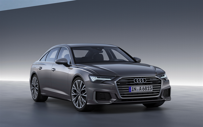 Download Wallpapers Audi A6 2019 5th Generation C8 4k Luxury