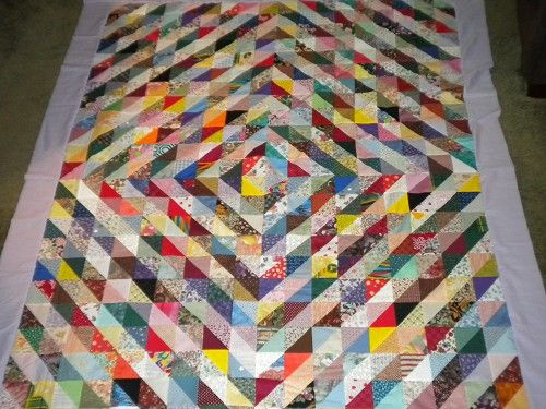 Vote Now: Scrappy Triangle Quilts - Quilting Gallery /Quilting ... : half square triangle quilt - Adamdwight.com