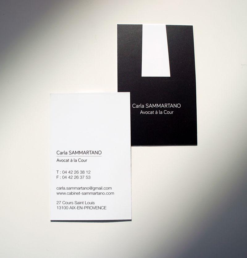 Design Business Card Carte De Visite Avocat Et Visite