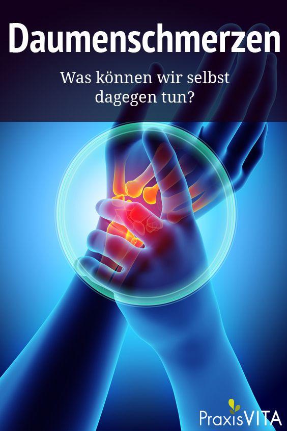 Daumen in 2020 - Muskel und gelenkschmerzen..