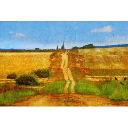 Leinwandbild Impressionist Road von Chris Vest East Urban Home Größe 102 cm H x 152 cm B