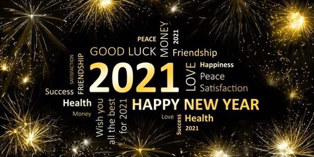 Happy New Year 2021 Images Wishes Memes Gif Quotes And Videos In 2021 Happy New Year Wallpaper Happy New Year Pictures Happy New Year Greetings