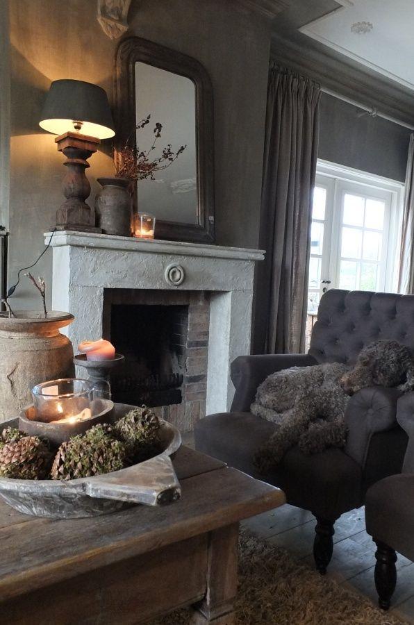 Binnenkijken woonkamer | Styling & Living | Grey colors ...