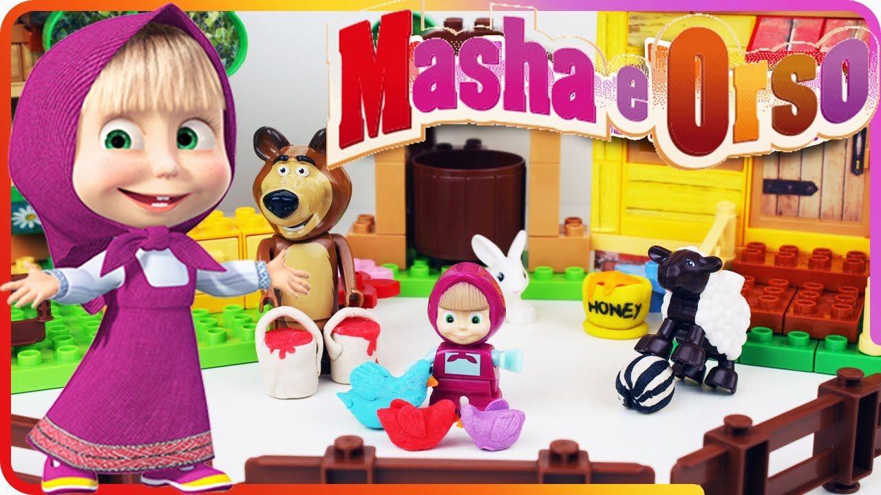 Masha e Orso italiano, Masha e Orso la Casa, Masha e Orso la Casa di Masha