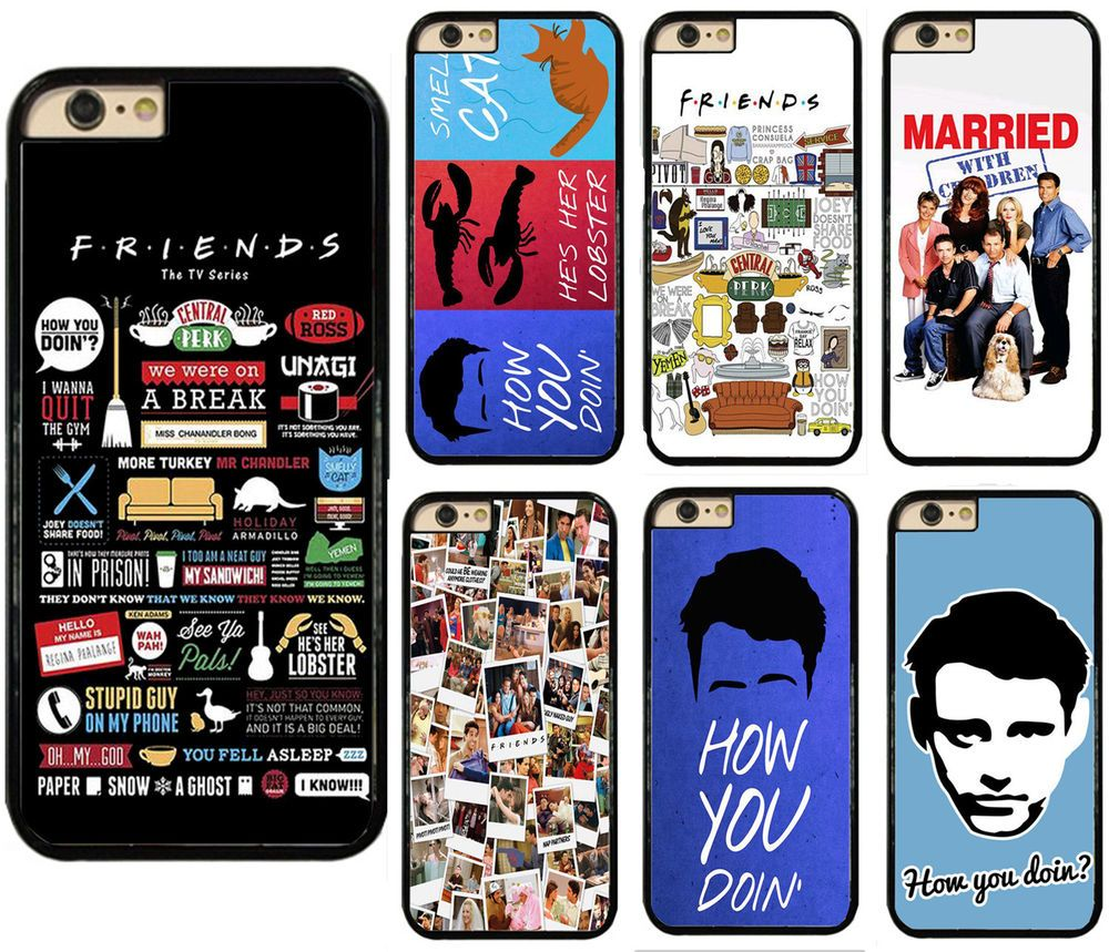 friends tv show series sitcom phone case cover fits for touch