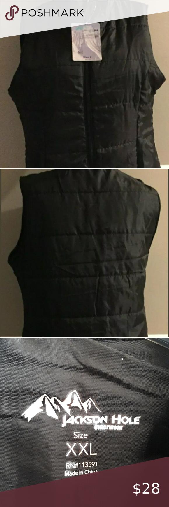 Jackson Hole Womens Black Puffer Vest Size Xxl Womens Black Puffer Vest Black Puffer Vest Black Puffer [ 1740 x 580 Pixel ]
