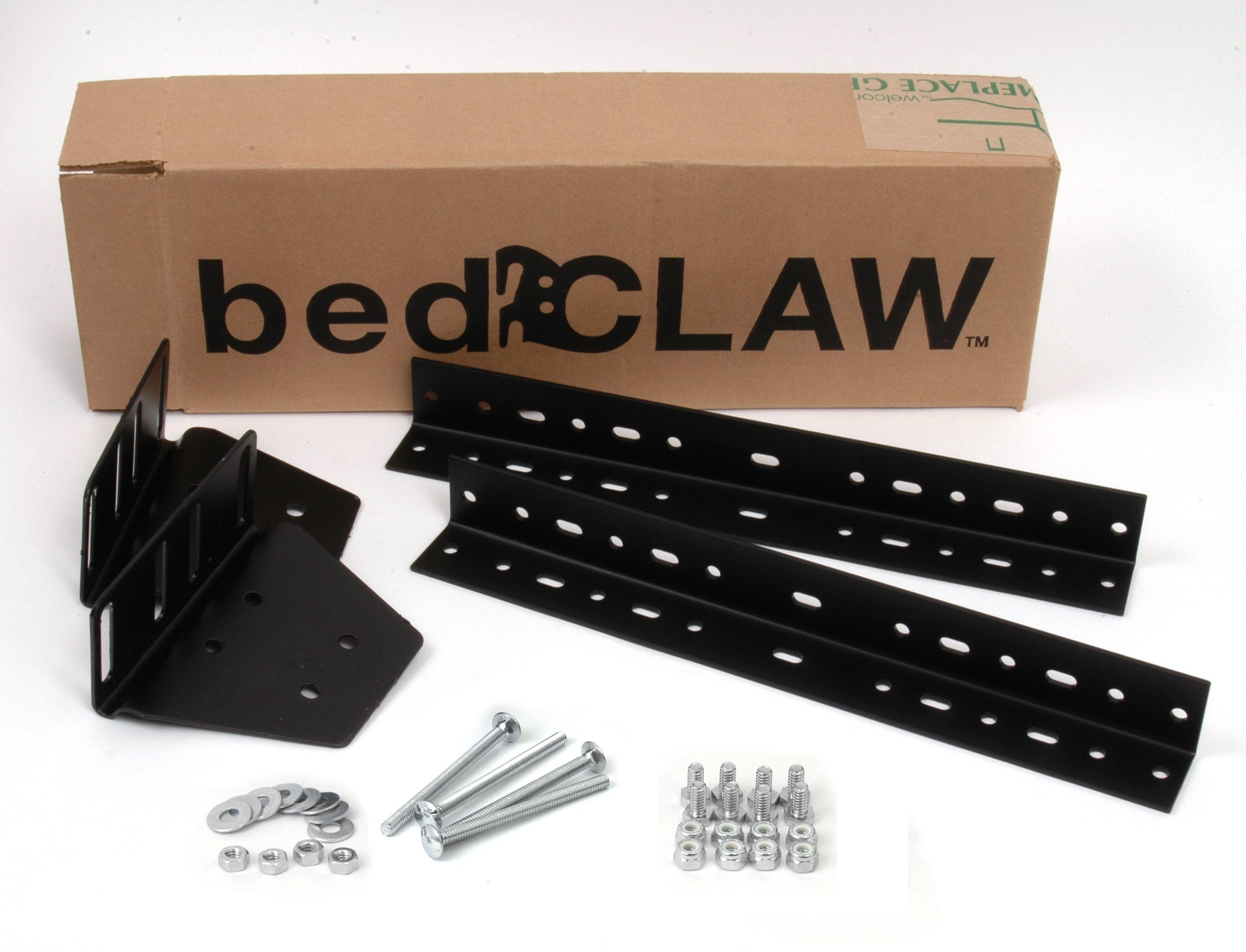 Bed Claw Universal Footboard Attachment Kit With Combo Bag