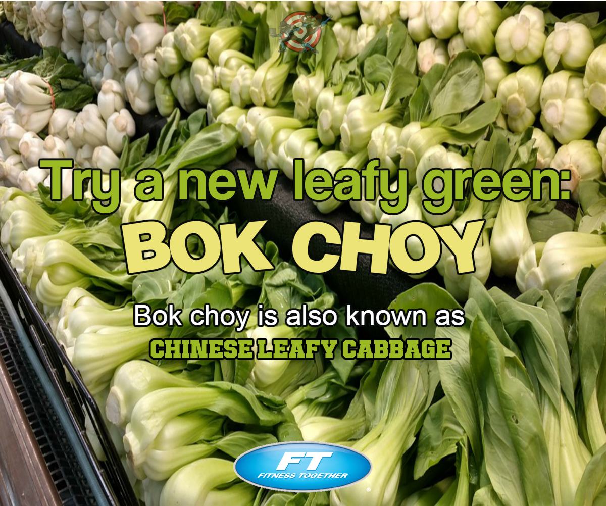 #TipTuesday Try A New Leafy Green: Bok Choy Bok Choy Is