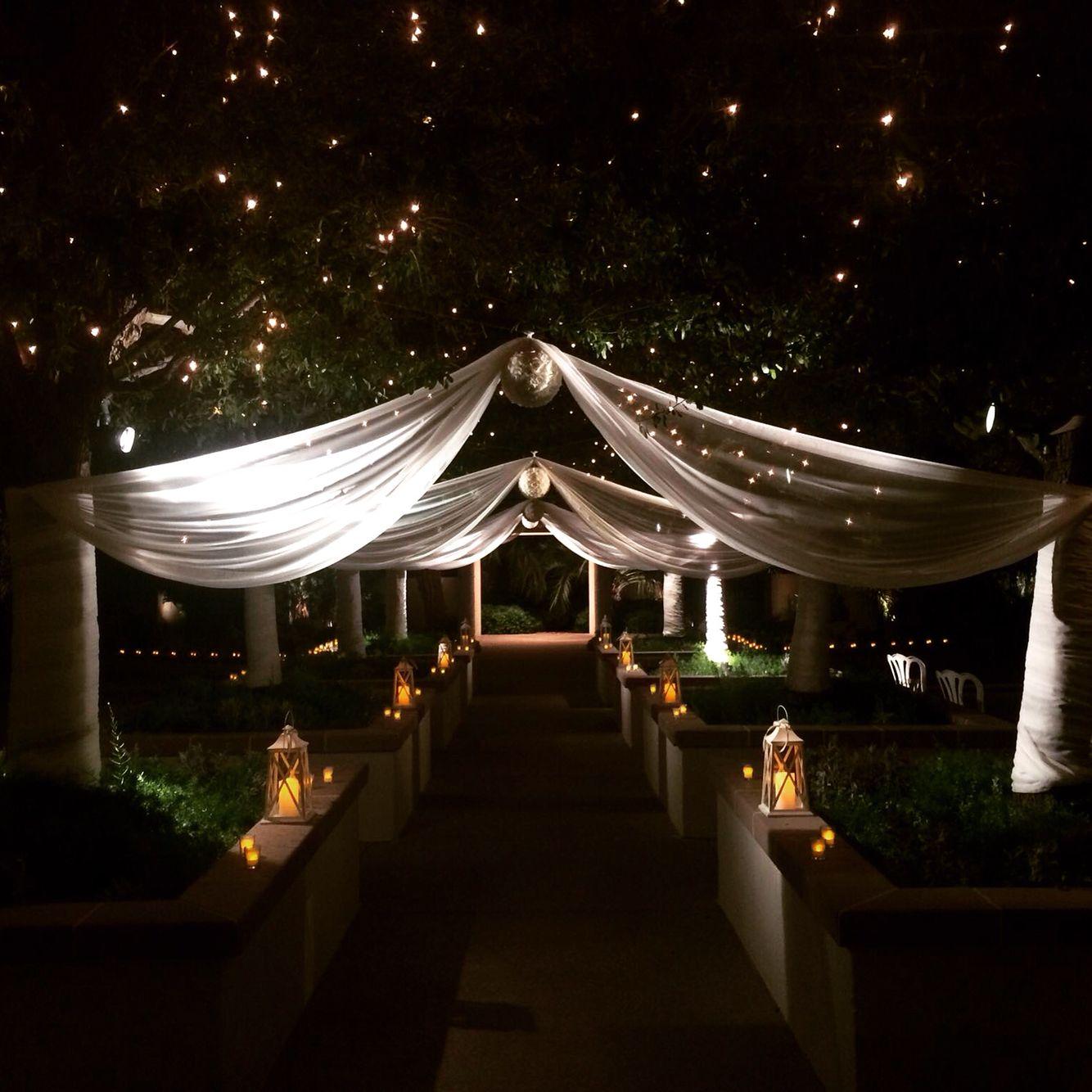 Emerald wedding decor ideas  Kuespert WeddingRustic Romantic AisleEmerald at Queensridge Las