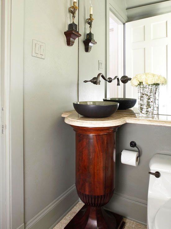 Small Bathroom Solutions Sinks, Small vessel sinks and Wall mount