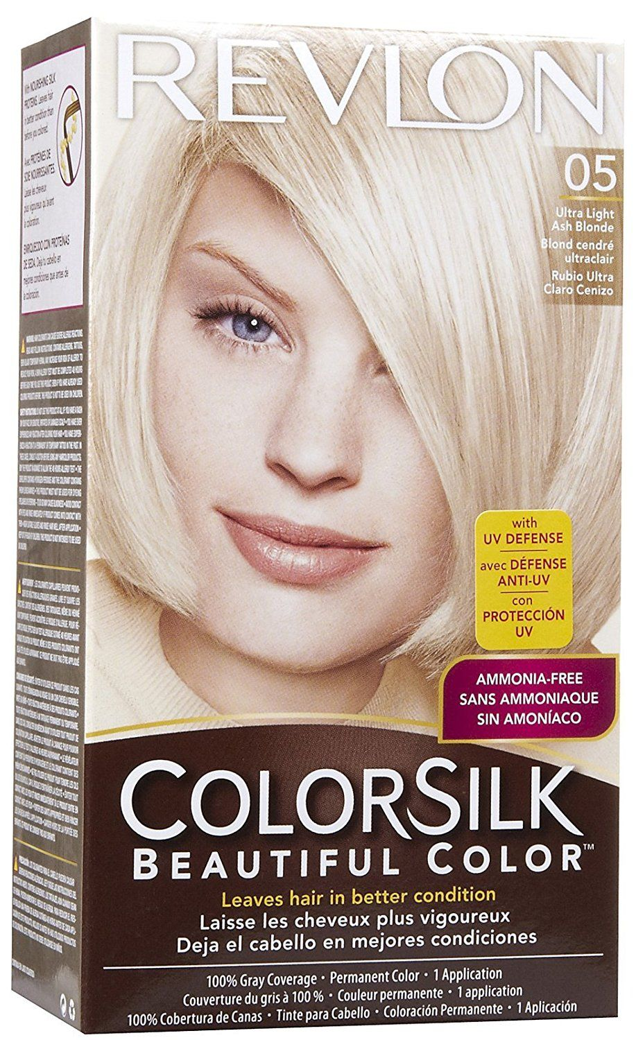 Revlon Colorsilk Beautiful Color 05 Ultra Light Ash Blonde 1 Ea