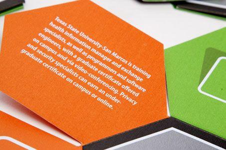 Texas State Health Brochure Folds  Packaging Pinterest Brochures