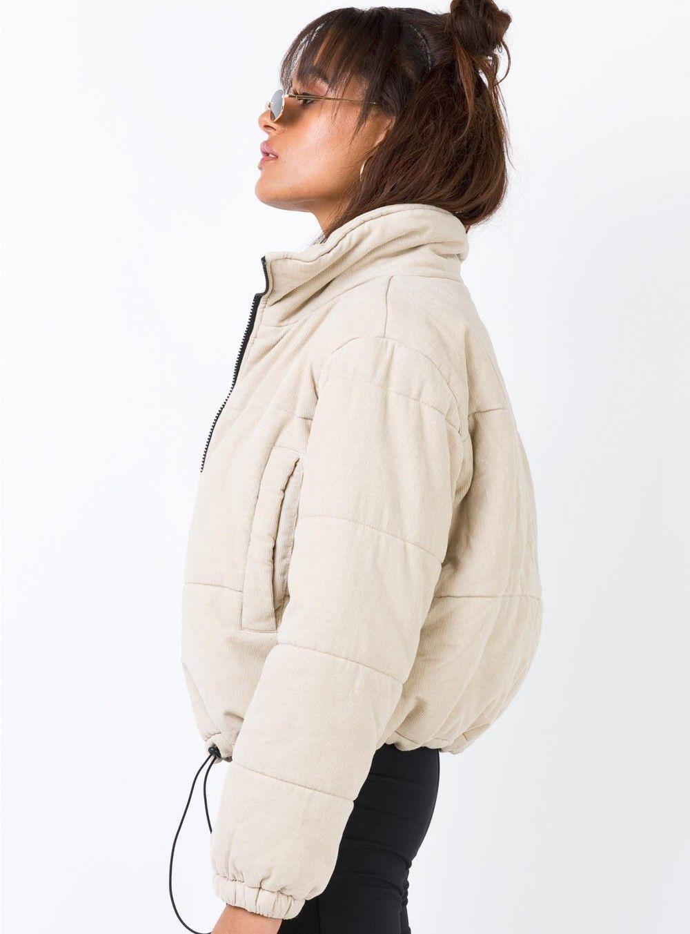 Polly Puffer Jacket Beige In 2021 Jackets Beige Puffer Jacket Puffer Jackets [ 1353 x 1000 Pixel ]