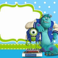 Monster University Free Printable Party Invitations Monster 1