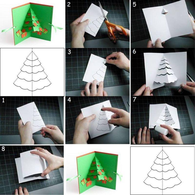 Ideas To Make A Christmas Card Part - 36: Weihnachtskarten Selber Machen: 15 DIY Ideen + Anleitung. Make Christmas  CardsCards ...