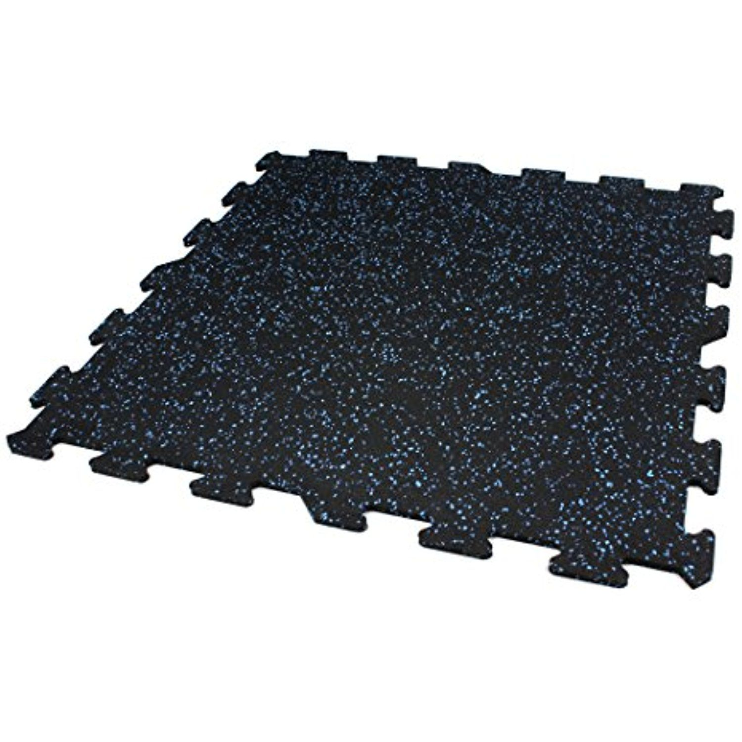 Rubber Gym Flooring Installation Cost: IncStores 8mm Strong Rubber Tiles (23in X 23in Tiles/Multi