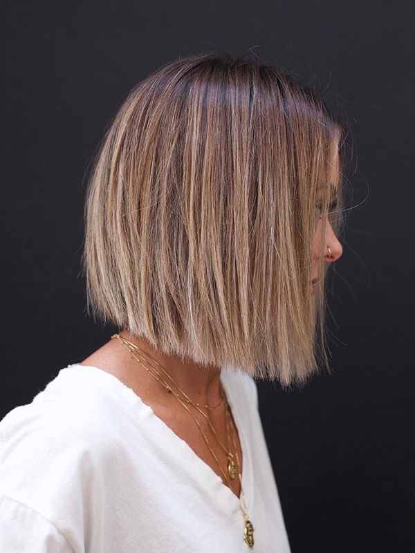 Awesome Balayage Bob Haircuts to Show Off Nowadays | Conveyclub
