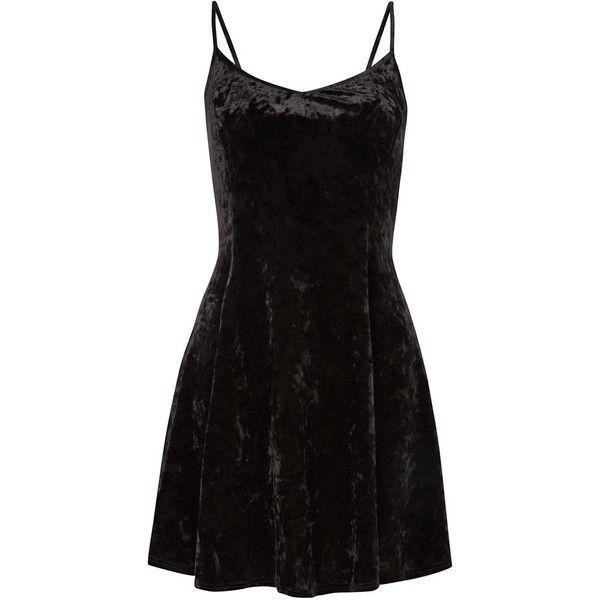 42++ Black velvet strappy dress inspirations