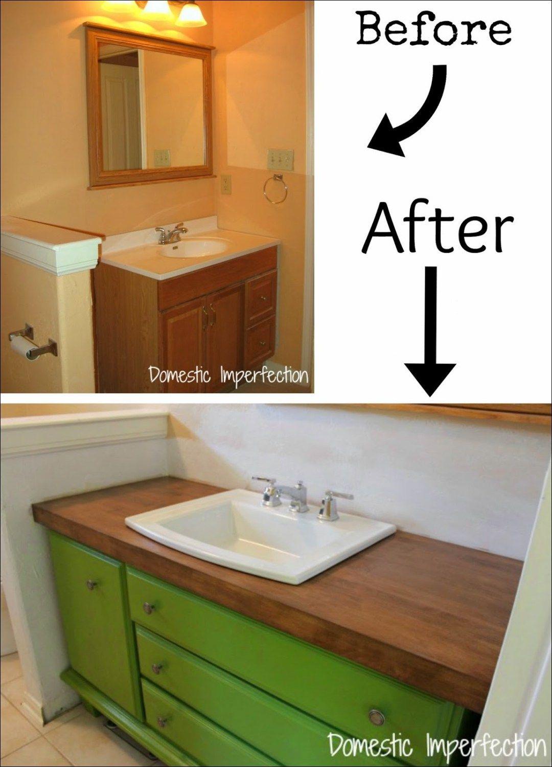 Bathroom Vanity Makeover 3 Diy Sink Cabinets