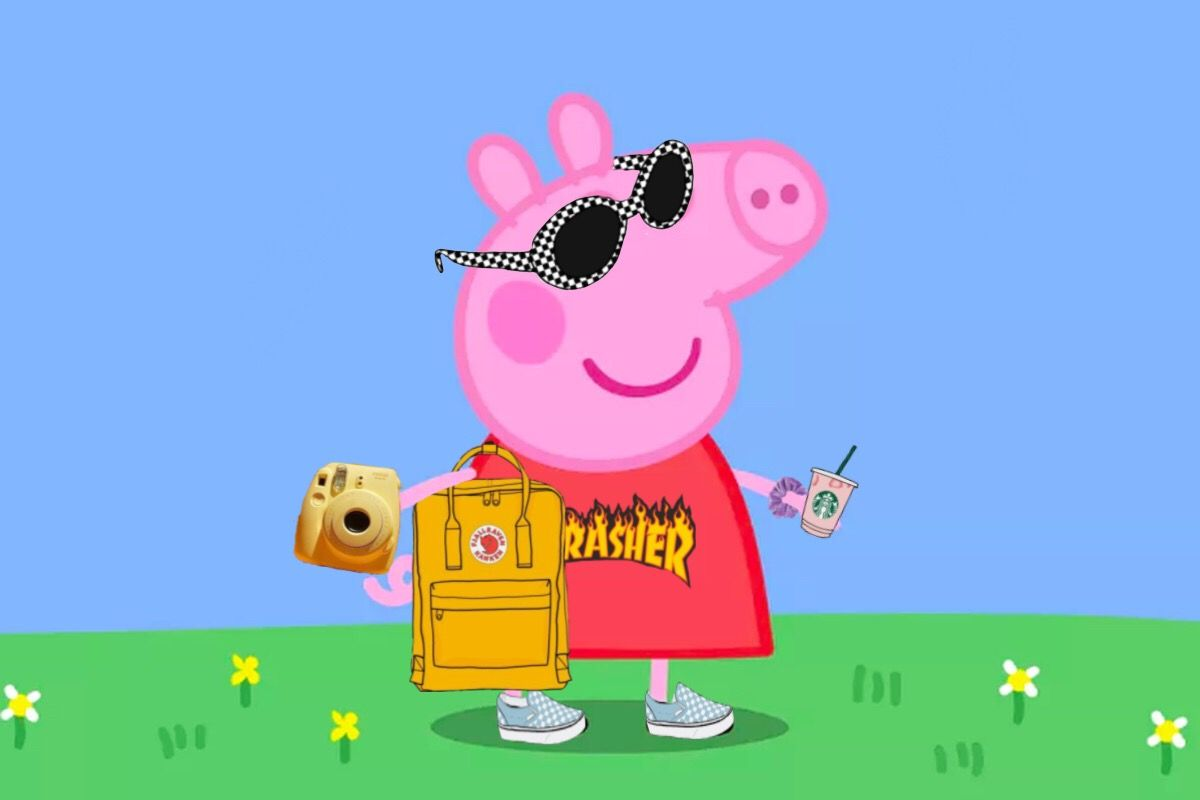 Vsco peppa pig😂😂😂 freetoedit remixed from mraehomen