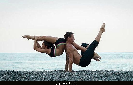 Yoga for couples - YogaPoses8.com ®