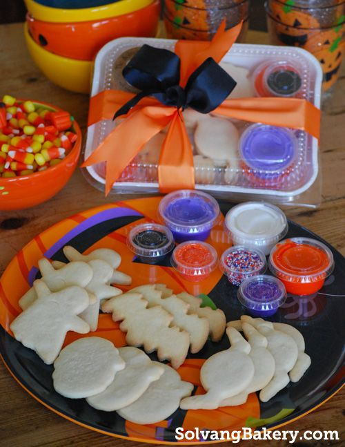 a fun diy halloween cookie decorating kit to entertain those little ghosts and goblins ship - Halloween Cookie Decorations
